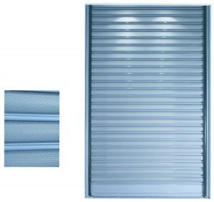 Διάτρητα Ρολλά, R321, Ρολλό κοίλο φύλλο διάτρητο ύψους 7cm