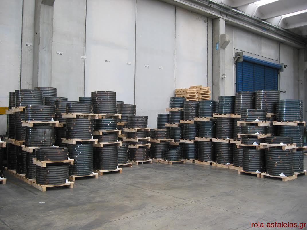 Επισκευές ελατήρια για ρολά ασφαλείας