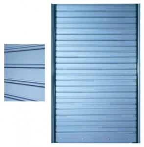Ρολλά κλειστού τύπου, R213, Ρολλό στενό ύψους 7,5cm, Πάχος λαμαρίνας από 0,6mm έως 0,8mm